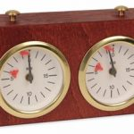 BHB Blitz Chess Clock – Mahogany