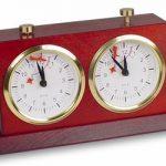 BHB Large Tiltback Chess Clock – Mahogany