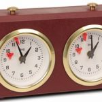 BHB Turnier Chess Clock – Burgundy