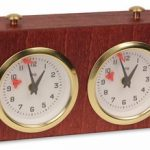 BHB Exklusiv Chess Clock – Mahogany