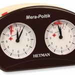 Hetman Analog Chess Clock – Brown