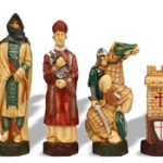 Crusades Hand Decorated Theme Chess Set