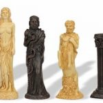 Gods of Mythology Theme Chess Set