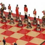 Napoleon Hand Painted Deluxe Chess Set Package