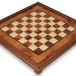 Elm Root & Erable Framed Chess Board – 2″ Squares