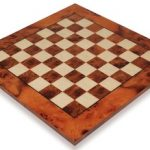 Elm Root & Maple Chess Board – 1.125″ Squares