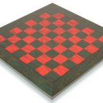 Green & Red Chess Board – 2″ Squares