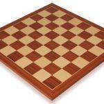 Mahogany & Maple Classic Chess Board – 2.125″ Squares