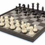 Chess & Checkers Folding Magnetic Travel Set – 9.75″