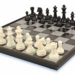 Chess & Checkers Folding Magnetic Travel Set – 12.5″