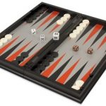 Backgammon, Chess, & Checkers Folding Magnetic Travel Set – 12.5″