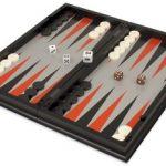 Backgammon, Chess, & Checkers Folding Magnetic Travel Set – 12.5″