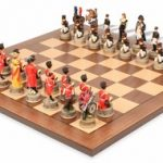 Battle of Waterloo Theme Chess Set Package