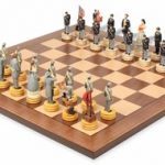 Civil War II Theme Chess Set Package