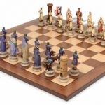 Crusades III Theme Chess Set Package