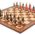 English & Scottish Theme Chess Set Package