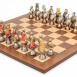 Medieval Bust Theme Chess Set Package