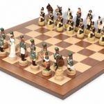 Napoleon vs Russia Theme Chess Set