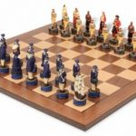 Pirates & Royal Navy Theme Chess Set Package