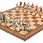 Rome & Greece Theme Chess Set Package