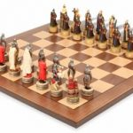 Russians & Mongols Theme Chess Set Package