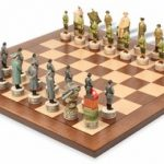 World War II Theme Chess Set Package