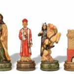 Camelot Theme Chess Set