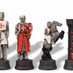 Crusade Knights Theme Chess Set