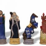 Legend of King Arthur Theme Chess Set
