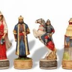 Russians & Mongols Theme Chess Set
