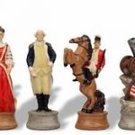 American Revolutionary War II Theme Chess Set