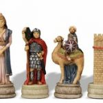 Romans & Arabia Theme Chess Set