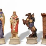 Large Crusades III Theme Chess Set