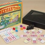 Mexican Train Tournament Double 12 Domino Set