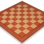 Rosewood & Maple Standard Chess Board – 1.5″ Squares