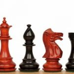 Royal Staunton Chess Set in Ebony & African Padauk – 4″ King