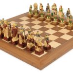 Celtic Hand Decorated Theme Chess Set Package