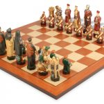 Crusades Hand Decorated Theme Chess Set Standard Package