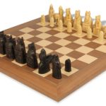 Isle of Lewis Chess Set by Studio Anne Carlton Deluxe Package