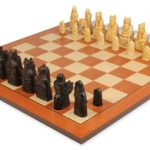Isle of Lewis Chess Set by Studio Anne Carlton Package