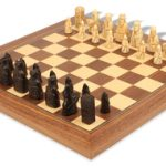 Mini Isle of Lewis Chess Set by Studio Anne Carlton Deluxe Package