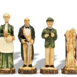 Sherlock Holmes Hand Decorated Theme Chess Set