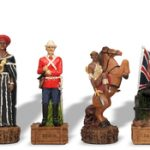 British & Zulu Theme Chess Set