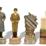 World War II Theme Chess Set