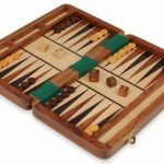 Magnetic Travel Backgammon Set – 10″