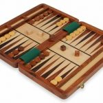Magnetic Travel Backgammon Set – 12″