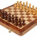 Folding Magnetic Travel Chess Set – 10″