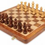 Folding Magnetic Travel Chess Set – 12″
