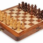 Folding Magnetic Travel Chess Set – 7.5″