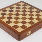 Magnetic Octagon Travel Chess Set with Drawer – 9″